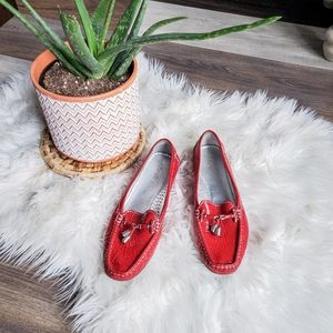 First brand leather loafers